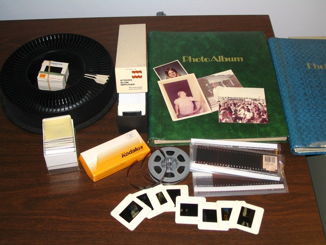 Photos, slides and negatives