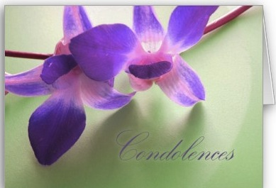 Condolences: Our Losses